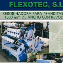 Slitter rewinder model RTC 1200 for mini-rolls
