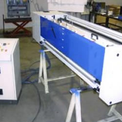 Hot microperforation unit