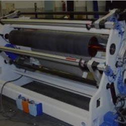 Film protective rewinder machines