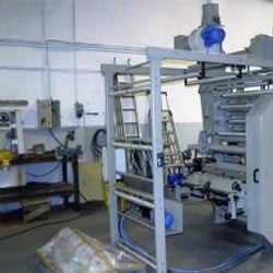 Flexo in line with bag maker machine MLC 700-1 colour