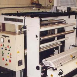 Flexo in line with bag maker machine MLC 900-2 colours