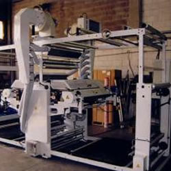 Flexo in line with bag maker machine MLC 1200-2 colours
