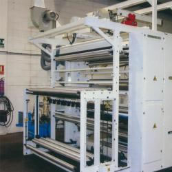Flexo in line with bag maker machine MLC 1800-1 colour