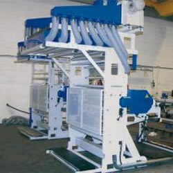 Flexo in line with extruder MLE 1200-1 colour Chamber Doctor blade