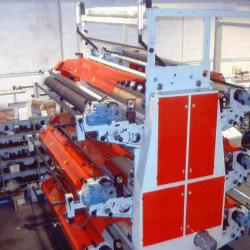 Flexo in line with extruder MLE 2600-6 colours
