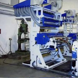 Flexo in line with extruder MLE 1100-1 colour