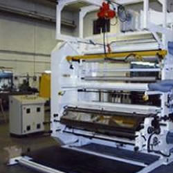 Flexo in line with extruder MLE 1800-1 colour